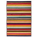 Multi Stripes Contemporary Rug San Fan 80X150