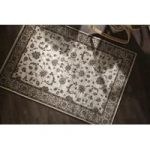 Natural Vintage Bordered Traditional Rug Munich 240X340