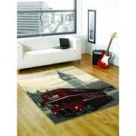 Big Smoke Retro Rug Colourful Majorca 120X160