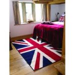 Red White & Blue Retro Rug Majorca 80X150