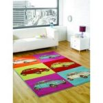 Colourful Bug Funky Rug Majorca 120X160