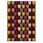 Pineapples Colourful Modern Rug Majorca 120X160
