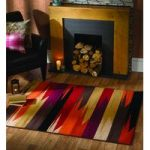 Brown Shattter Contemporary Rug Majorca 120X160