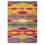 Multi Twist Retro Rug Majorca 120X160