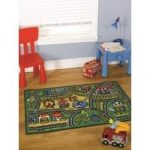Happy Town Childrens Mat 100X190