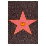 Hollywood Star Multi Colour Childrens Rug 100X160