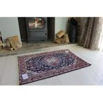 Blue Fine Malayer Persian Wool Rug