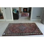 Hand Tufted Persian Hamadan Wool Rug