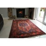 Persian Hamadan Hand Tufted Wool Rug