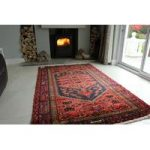 Large Hand Made Khamseh Persian Wool Rug