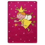 Kids Pink Fairy Bedroom Mat