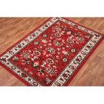 Shiraz Traditional Red Floral Runner Rug 1170-R55 – 63cm x 240cm
