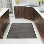 Sand Kitchen Machine Washable Rubber Mats