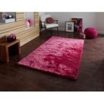 Durable Easy Clean Colour Fast Vibrant Pink Shaggy Rug – Savoy 60cm x