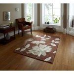 Rich Red Luxuriously Soft Quality Floral Patterned Rug 1512 – Phoenix