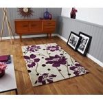 High Quality Lavish Purple Patterned Area Rug 1512 – Phoenix 120cm x