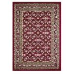 Traditional Red Living Room Rugs – 160cm x 225cm (5ft 3 x 7ft 4 )