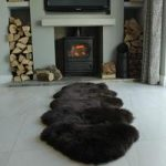 Choco Brown Double Sheepskin Rug