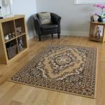 Shiraz Traditional Beige Medallion Rug 1020-B55