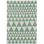 Onix Rug 160×230 cm Triangles Teal