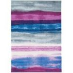 Baraki Purple, Blue & Grey Acrylic Rug