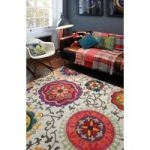 Valdivia Cream & Multi Modern Contemporary Rug