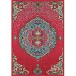 Valdivia Pink Medallion Traditional Rug