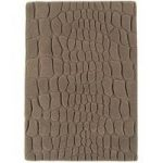 Vallejo Taupe Brown Wool Modern Rug