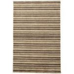 Sassari Natural Wool Modern Stripe Rug