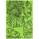 Salerno Green Floral Wool & Viscose Rug