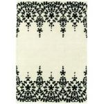 Salerno Natural Baroque Wool, Viscose Vintage Rug