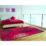 Salerno Red Moroccan Wool, Viscose Rug