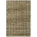 Palmas Dark Grey Checked Jute Rug