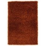 Medina Copper Orange Shaggy Rug