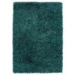 Medina Teal Blue Shaggy Rug