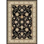 Dayton Black Traditional Rug