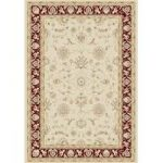 Dayton Natural & Red Traditional Rug