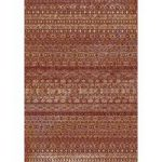 Dayton Red Aztec Traditional Rug