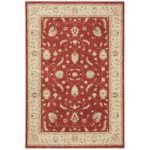 Darwin Red & Beige Traditional Rug