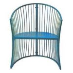 Blue Marseille Garden Arm Chair
