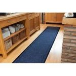 Concorde Non Slip Navy Blue Hallway Runner Rug – Buy Per Foot