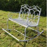 Heritage Two Seater Garden Rocking Bench