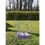 Grey Classic Garden Hanging Chair