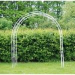 Large Cream Loire Garden Arch
